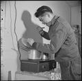 Manzanar Relocation Center, Manzanar, California. Takeshi Shindo, Manzanar Free Press Reporter, tas . . . - NARA - 536925.tif