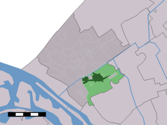 De Lier - Image: Map NL Westland De Lier