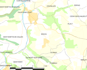 Map commune FR insee code 14251.png