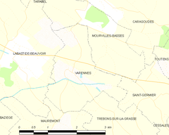 Map commune FR insee code 31568.png