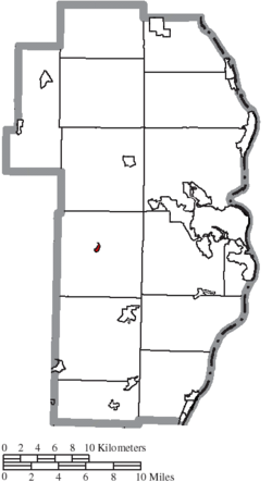 Location of Bloomingdale in Jefferson County