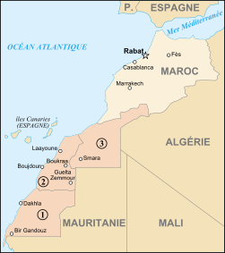 Map of Morocco and Western Sahara-fr.svg