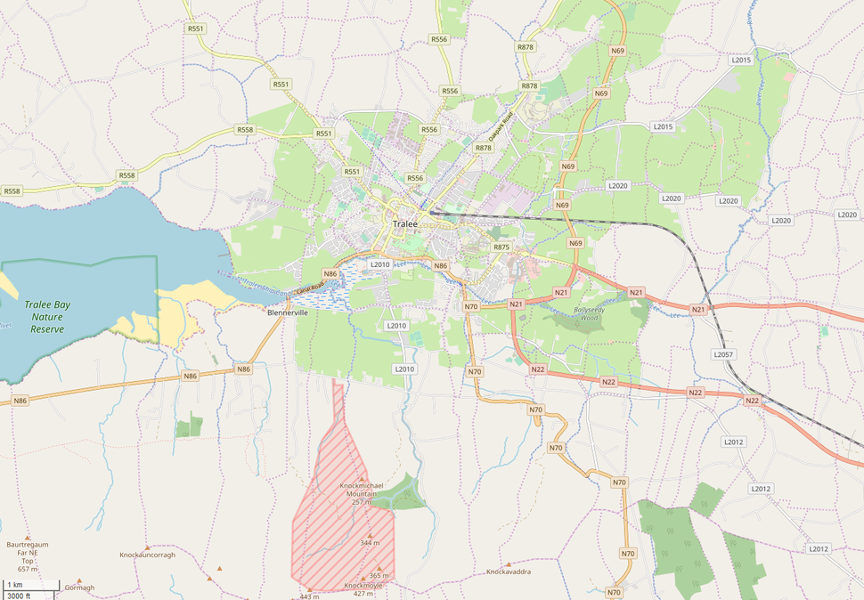 Map of Tralee