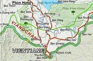 Vientiane Prefecture Prefecture of Laos