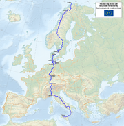 Map of the European Long Distance Path E1.png