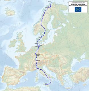 E1 European long distance path
