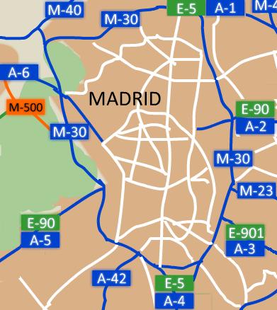 Autopista de Circunvalación M 30 Howling Pixel