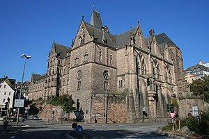 University of Marburg cover