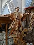 Marienstiftskirche Lich Kanzel Leo der Große 03.JPG