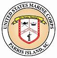 Marine Corps Recruit Depot, Parris Island logo.jpg
