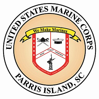Marine Corps Recruit Depot Parris Island military base