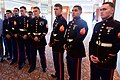 Marine Security Guard Detachment Members Watch Secretary Kerry During Embassy Sri Lanka Employee Meet-and-Greet (16730014724).jpg