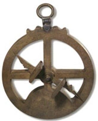 Mariner's astrolabe - Mariner's astrolabe in Maritime Museum, Lisbon