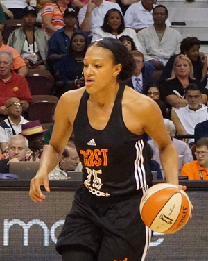 Marissa Coleman - Marissa Coleman at 2015 All-Star game