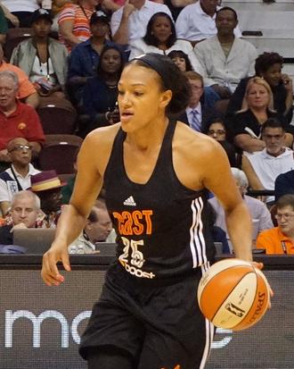 Marissa Coleman - Marissa Coleman at 2015 All-Star game