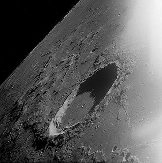 Marius (crater) - Apollo 12 photo