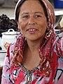 Market Woman at Bazaar - Bukhara - Uzbekistan (7520010554).jpg