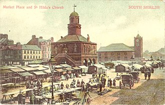Market House (Fayetteville, North Carolina) - Image: Market place 1904