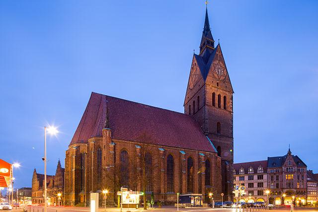 marktkirche sehensw rdigkeit in hannover deutschland reisef hrer tripwolf. Black Bedroom Furniture Sets. Home Design Ideas