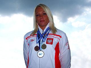 Marta Walczykiewicz Polish canoeist