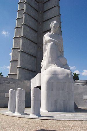 Juan José Sicre - Sicre's Statue of Martí
