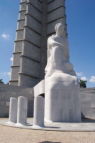 José Martí Memorial - Image: Marti statue