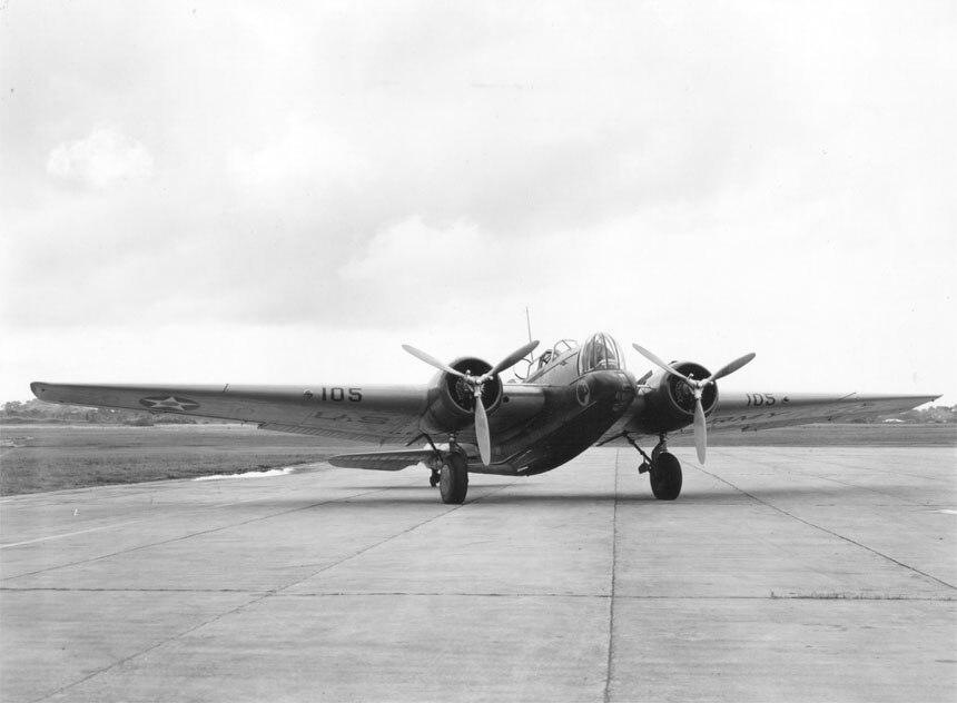 Martin B-10B airplane (00910460 136)