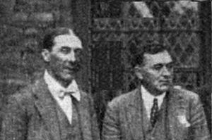 Geoffrey Shaw (composer) - Martin and Geoffrey Shaw (right) at the Summer School of Church Music, Bristol 1921
