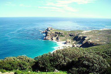 Marvellous view from Cape Point, South Africa.JPG