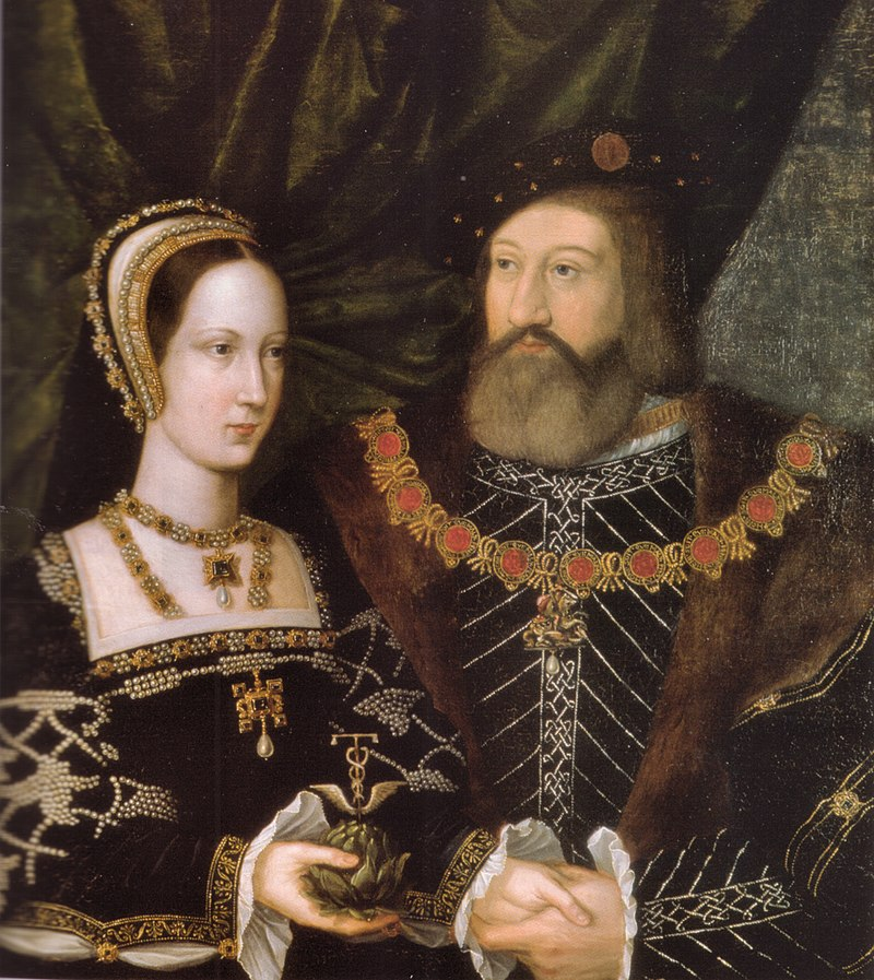 Ян Госсарт. Мария Тюдор и Чарльз Брэндон. Фото из Википедии