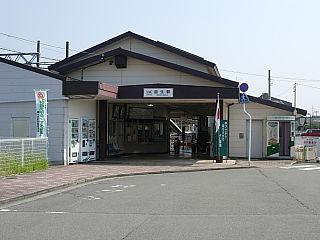 Masuo Station (Mie) Railway station in Kuwana, Mie Prefecture, Japan