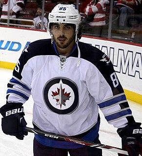 Mathieu Perreault Canadian ice hockey player