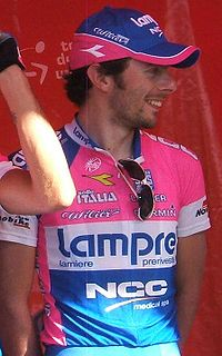 Matteo Bono podczas Tour Down Under 2009