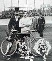 Maurice Garin, vainqueur de Paris-Roubaix 1898.jpg