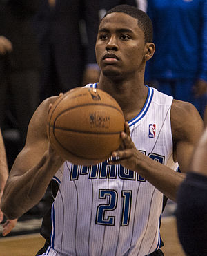 Maurice Harkless - Harkless playing for the Orlando Magic in 2012