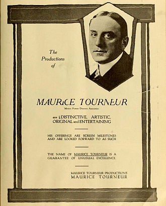 Maurice Tourneur - Advertisement (1919)