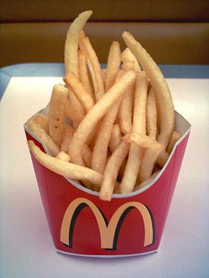 McDonald's French fries Potato (01)