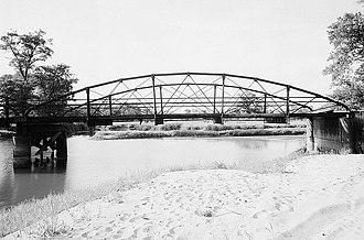 Black River (Wisconsin) - Bridge No. 4 of seven