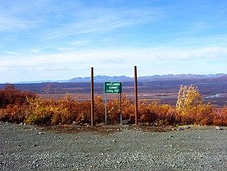 Denali Highway - Image: Mcclarensummit