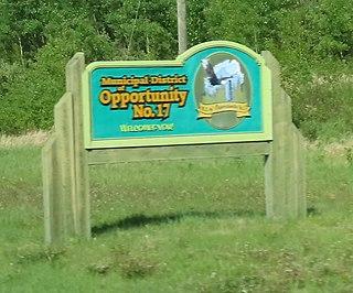 Municipal District of Opportunity No. 17 Municipal district in Alberta, Canada