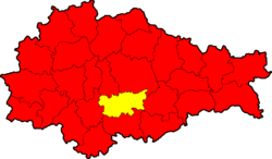 Medvensky district locator map.png