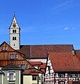 Meersburg Pfarrkirche Dach und Turm.jpg