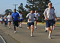 Members of Team Vandenberg participate in the Fit-to-Fight run at Vandenberg Air Force Base, Calif., April 30, 2009 090430-F-RQ403-092.jpg