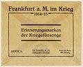 Memorial card for the war relief in Frankfurt 1914-1915.jpg