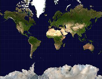 Projection De Mercator Wikipédia