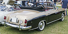 Mercedes-Benz 220S rear 20110611.jpg