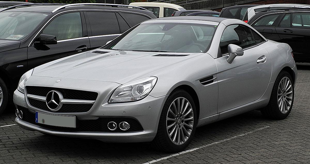 Mercedes Benz Amg >> 梅赛德斯-奔驰SLK级 - 维基百科,自由的百科全书