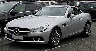 Mercedes-Benz SLK-Class Motor vehicle