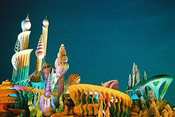 English: Mermaid lagoon at Tokyo Disney sea