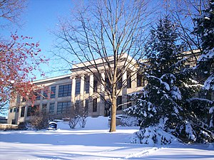 Ohio State Normal College at Kent - Merrill Hall in February 2010.